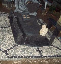 Nagrobki Szczecin - Granitowy Dziecięcy D012