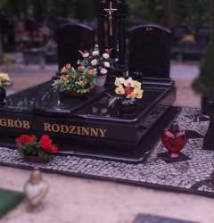Nagrobki Szczecin - Grobowiec G117