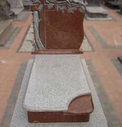 Nagrobki Szczecin - Granitowy Pojedynczy P153