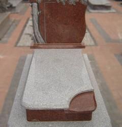 Nagrobki Szczecin - Granitowy Pojedynczy P154