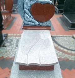 Nagrobki Szczecin - Granitowy Pojedynczy P155