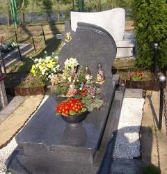 Nagrobki Szczecin - Granitowy Pojedynczy P238