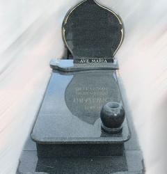 Nagrobki Szczecin - Granitowy Pojedynczy P240