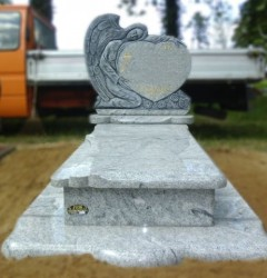 Nagrobki Szczecin - Granitowy Pojedynczy P450