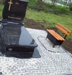 Nagrobki Szczecin - Granitowy Pojedynczy P534