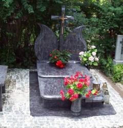 Nagrobki Szczecin - Granitowy Pojedynczy P542