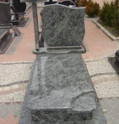Nagrobki Szczecin - Granitowy Pojedynczy P543