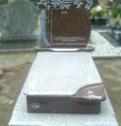 Nagrobki Szczecin - Granitowy Pojedynczy P590