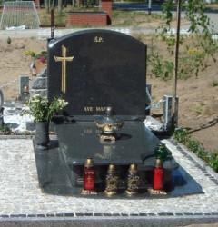Nagrobki Szczecin - Granitowy Rodzinny R213