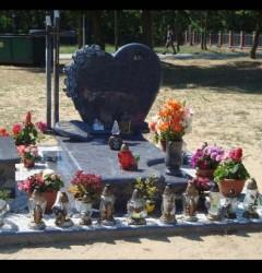 Nagrobki Szczecin - Granitowy Rodzinny R217