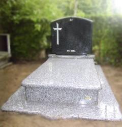 Nagrobki Szczecin - Granitowy Rodzinny R315