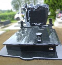 Nagrobki Szczecin - Granitowy Rodzinny R215