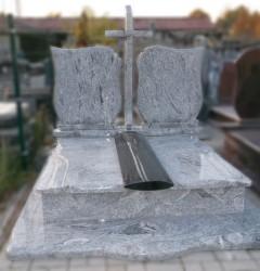 Nagrobki Szczecin - Granitowy Whiscount White - Wyprzedaż