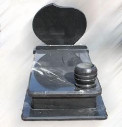 Nagrobki Szczecin - Granitowy Pojedynczy P339
