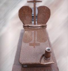 Nagrobki Szczecin - Granitowy Pojedynczy P374