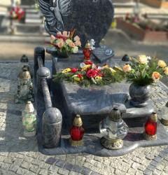 Nagrobki Szczecin - Granitowy Pojedynczy P573
