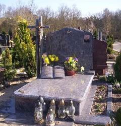Nagrobki Szczecin - Granitowy Rodzinny R216